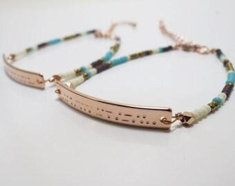 Morse Code Bracelet Custom Morse Code Necklace Morse Code Jewelry Sister Gift Sister Necklace Sister In Law Graduation gift