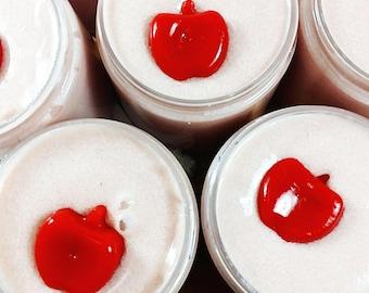 Cozy Emulsified Sugar Scrub. Caramel Candy Apple Sugar Body Scrub. Apple Scrub. Back to school gift. Teacher Gifts. Sugar Scrubs for Fall
