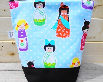Insulated Lunch Bag - Girls around the World