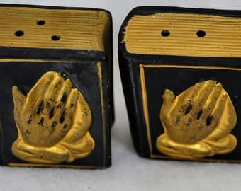 Vintage Holy Bible  Salt and Pepper Shakers S&P by Enesco