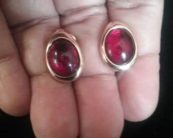 Clip On Earrings, Vintage Earrings, Vintage Clip On Earrings, Avon Earrings