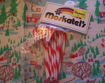 moskatel's plastic candy canes