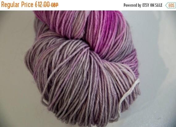 Christmas In July Hand-Dyed Yarn in Hocus Crocus Colourway Sock Yarn Superwash Wool/Nylon Tootsie Base