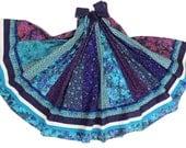 Special Order for Swirlyspanial, Long Panel Bohemian Patchwork Skirt