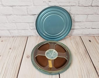 """Vintage 7"""" Sound Reel in Canister Home Movie"""