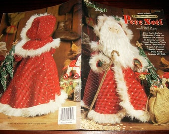 Christmas Plastic Canvas Patterns Pere Noel Old World Santas The Needlecraft Shop 954030  Plastic Canvas Leaflet