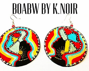Headwrap Solar Earrings