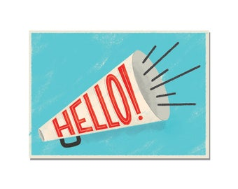 Hello! - Set of 12 Political Action Postcards - Write and Send to Congress and Elected Officials