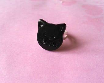 ♥♥♥♥ Cat ring ♥ black ♥