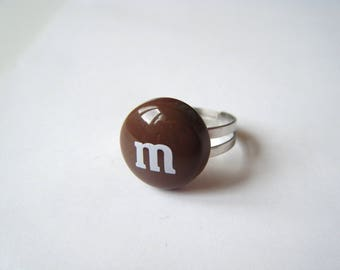 Ring - Sweet chocolate M