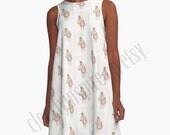 A line Dress, Derby Horse...