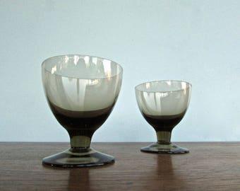 Orrefors Vintage Modern Glasses, ORR71 by Orrefors, Scandinavian Modern Barware