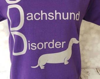ODD obsesive dachshund disorder shirt