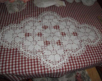 Another Beautiful Hand Crocheted Vintage Cotton Doily