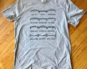 City of Bridges Pittsburgh Tee in Grey