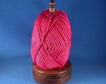 Walnut Yarn / Thread Holder - Natural Wax Finish