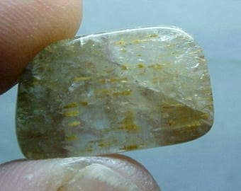 Agape Crystal Sacred Seven Quartz Slice Super Fine Minerals For Wire Wrapping 057