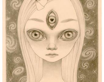 Vega - Original Drawing