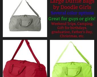 Monogrammed Duffel Bag.  Personalized Duffel Bag.  Large duffel bag.  Groomsmen duffel bag.  Bridesmaid duffel bag.  ID-8806