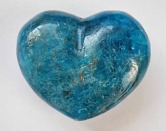Apatite Mini Puffy Heart