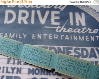 ONSALE Vintage Lot Dozen Drive In Theatre Tickets