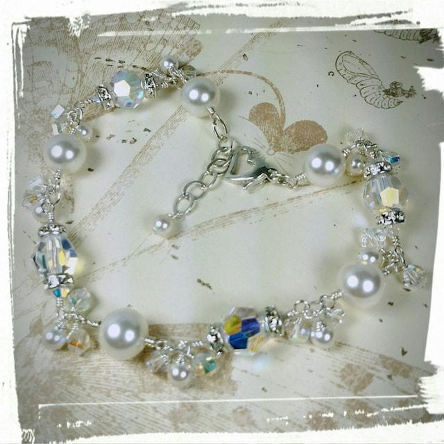 handmade fine jewelry wedding bridesmaid crystal by fineheart