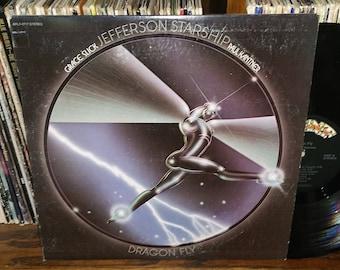 Jefferson Starship Dragonfly Vintage Vinyl Record
