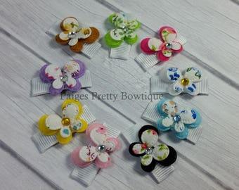 Itty Bitty Butterfly Clip-Baby Hair Clip-Toddler Hair Clips-Fine Hair Clips