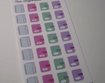 28 Planner Stickers / Planning Stickers