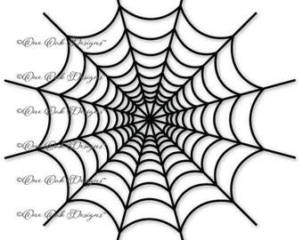Halloween Spider Web SVG File, dxf, pdf, eps, ai, jpg, png, SVG File for Cameo, Cricut & other electronic cutters