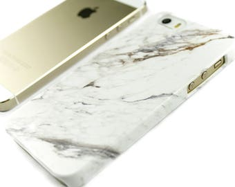 iPhone 8 Plus Case Marble iPhone 7 Case, iPhone X Case, White Marble iPhone 6S, Samsung Galaxy