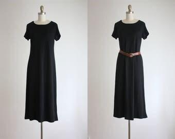 soft knit maxi dress