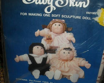 Craft Kit - Baby Skin - Soft Sculptured doll- Rayman -   Unused 1980s -