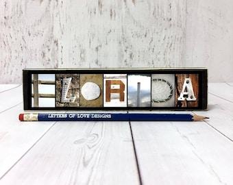 Florida Sign, Florida Gift, Florida Home Decor Wall Art, Florida Ornament, Travel Gifts for Travelers, Traveler Gift, Travel Art, Travel Map