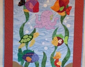 Happy Sealife Quilt