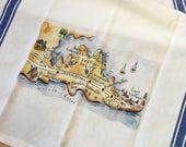Hampton Bay Map Kitchen Tea Towel