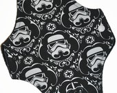 SECONDS Moderate Core- Storm Trooper Knit Reusable Cloth Maxi Pad- WindPro Fleece- 10 Inches (25.5 cm)