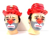 Hobo Doll Heads - Set of Two