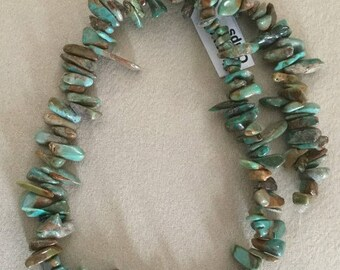 American Turquoise Chips