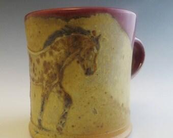 Diner Mug Bay Leopard Appaloosa