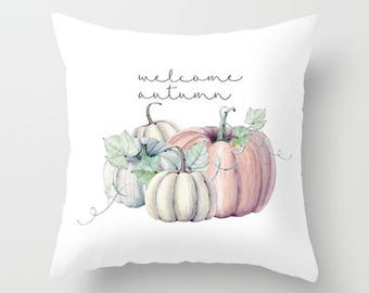 Pumpkin,seasonal,autumn,fall,holiday,pillow cover, typography,throw pillow,decorative pillow