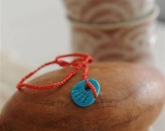 Red Bracelet Hamsa cameo charm Unisex kabbala red string Luck Amulet turquoise Cameo By Red Bracelet on Etsy