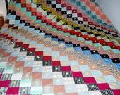 Vintage Bright/Colorful Patchwork Quilt