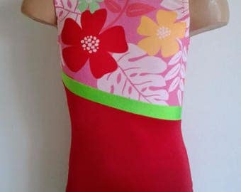 CHOOSE YOUR COLORS. Gymnastic Dance Leotard.Dance-wear. Toddlers Girls Gymnastics Leotard. Sizes 2T - Girls 12