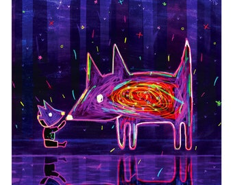 Wolfboy - Art Print