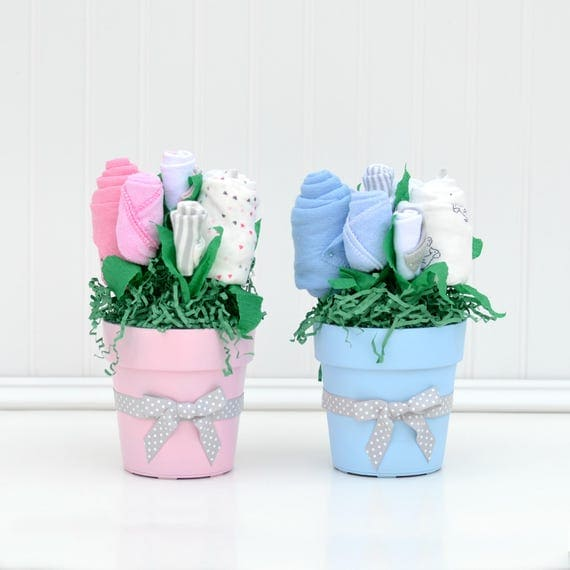 Twin Baby Shower Centerpieces, Boy Girl Twin Shower, Shower Decor for Twins, Blue Pink Baby Shower, Twin Shower Ideas, Twin Newborn Clothes