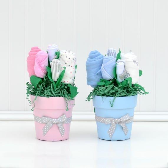 twin baby shower centerpieces boy girl twin shower shower decor