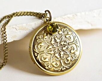 The Marrakesh Locket Necklace