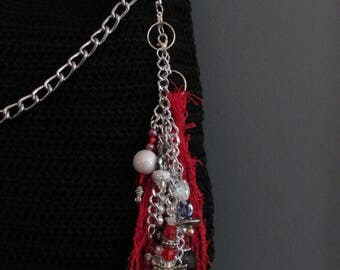 Beaded Purse  KeyChain