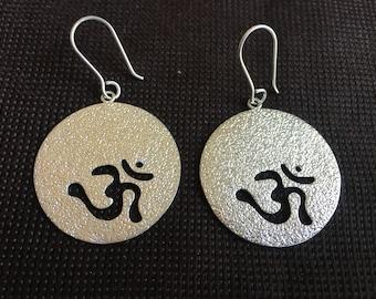 Om Earrings/Yogini Earrings